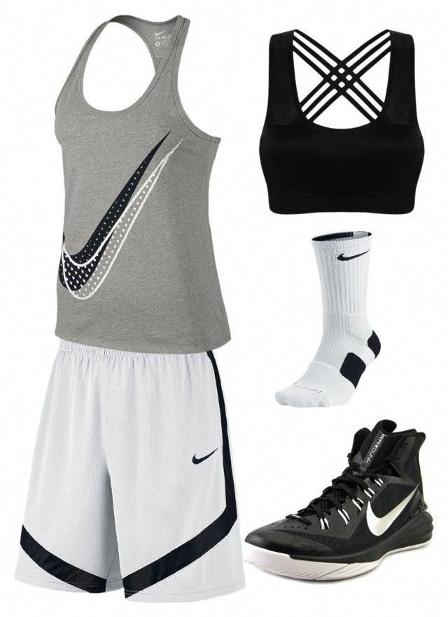 ffd9c26c27 Basketball by ljlovebasketball on Polyvore featuring NIKE  #HighSchoolBasketball