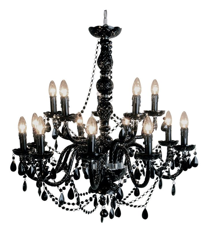Gioiello Crystal 14-arms kroonluchter - Kare Design - zwart