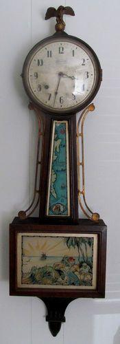 Ingraham Treasure Island Banjo Clock For Sale