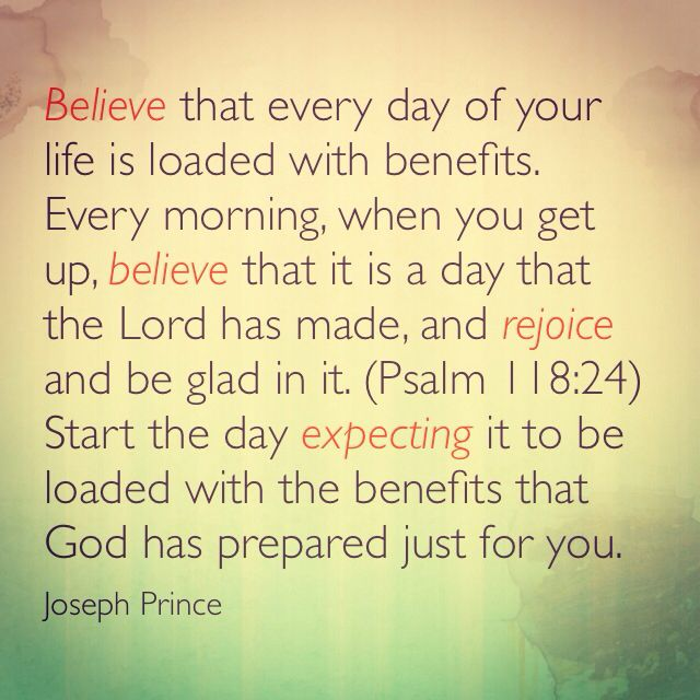 Joseph Prince ~ word for today