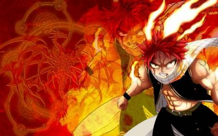 Natsu из аниме Фейри Тейл / Fairy Tail