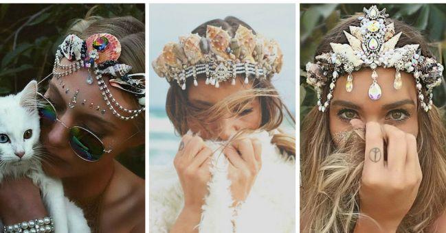 Coronas de sirena: una nueva y fabulosa tendencia, ¿te animas? - IMujer