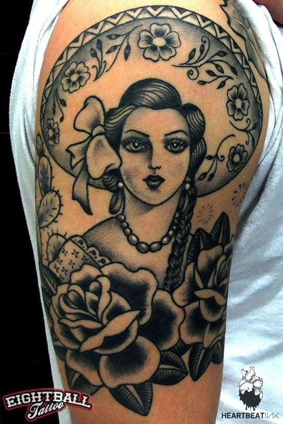 Vasso eightball tattoo