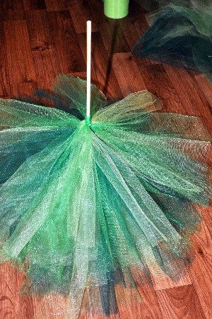 I've gotten so many compliments on my fluffy tulle Christmas tree, that I decided to recreate it, so you can make one yourself.