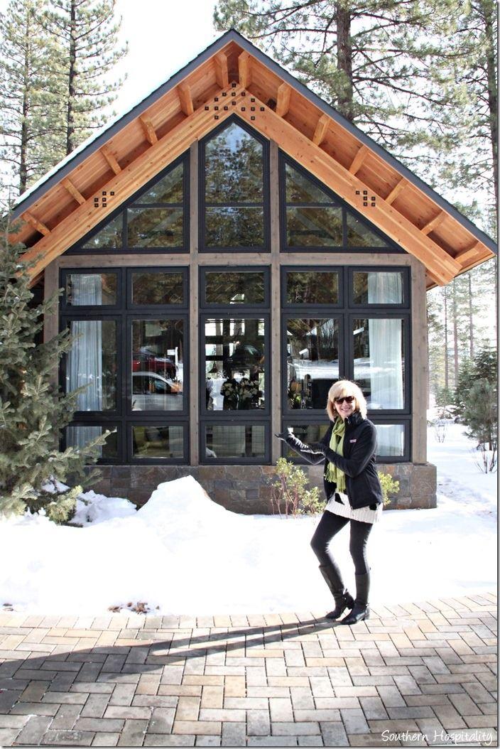Rhoda at HGTV dream home - near lake Tahoe