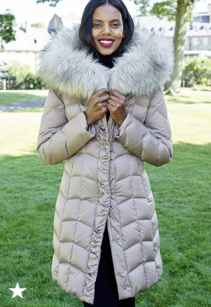 Bundling up has never looked so cute! This T Tahari faux fur-trim hooded puffer coat, available at Macy's, is wonderfully warm and oh-so stylish. Snag one in your favorite color before the cold front rolls in!