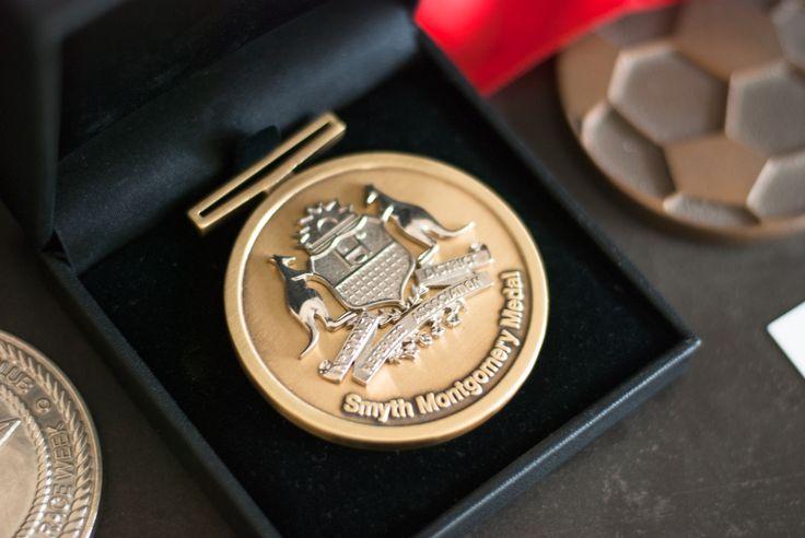 Smyth Montgomery Medal #award #design