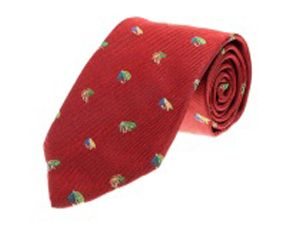 Fishing Fly Tie Red image