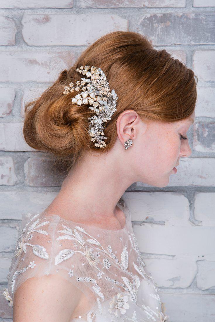 21 best Maria Elena Headpieces images on Pinterest | Wedding hair ...