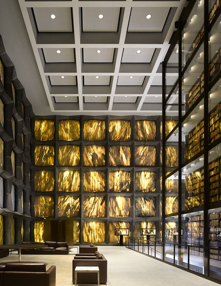 The Evolution of the College Library - James W. P. Campbell & Will Pryce - The Beinecke Library, Yale University