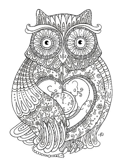 30+ totally awesome Free Adult Coloring Pages   Adult ...