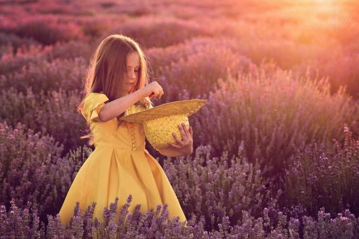 1X - Lavender girl by Elena Karagyozova