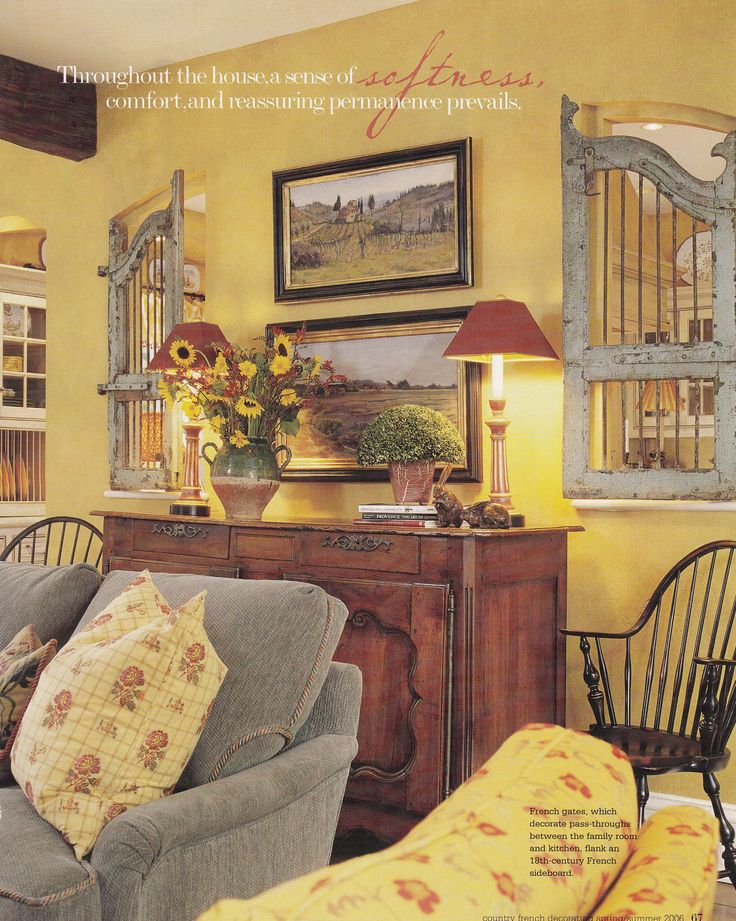 dc residence interior design sue alefantis architect walter lynch published country french decorating - Country French Decor