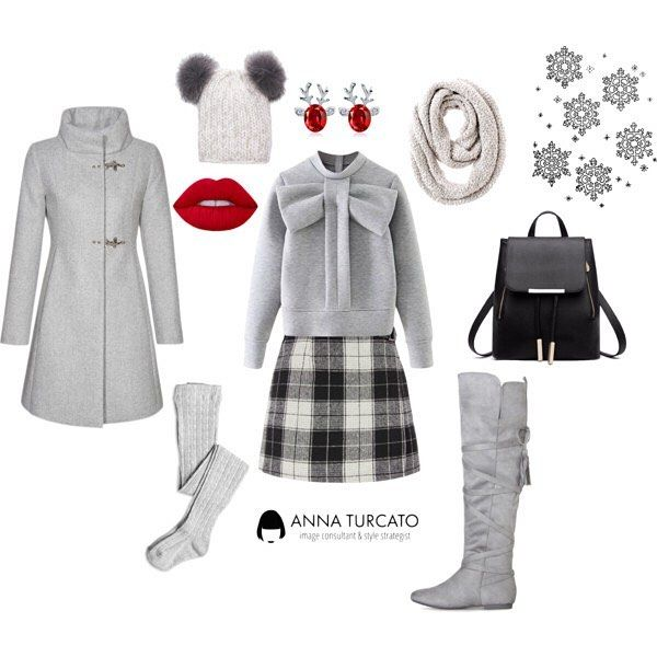#Snow time. Nevica? #unlookalgiorno di oggi ti aiuta ad affrontare il freddo con stile.  Caldi stivali in camoscio, calze di lana, comoda felpa da abbinare ad una gonna pesante. Cappotto con sciarpona e cappello divertente e sarai al riparo dal freddo. Dettagli da non dimenticare lo zainetto, più comodo della borsa per camminare nella neve, e un tocco di rosso per illuminare il tuo volto e scaldare il tuo sorriso. #fashionconsultant #imageconsultant #consulentedimmagine #fashion #style…