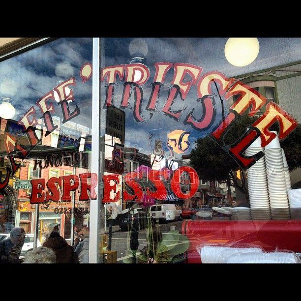 Caffe Trieste nel San Francisco, CA