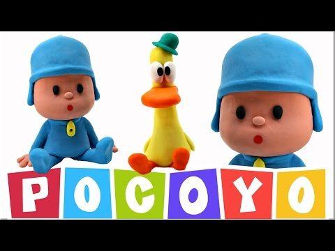 8 huevos sorpresa de Pocoyo y sus amigos juguetes nuevos toys surprise eggs 2017 Pocoyo en español - YouTube