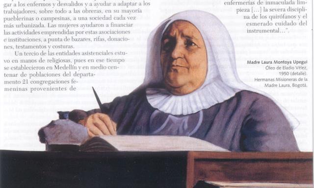 Eladio Velez Madre Laura Montoya Upegui, detalle