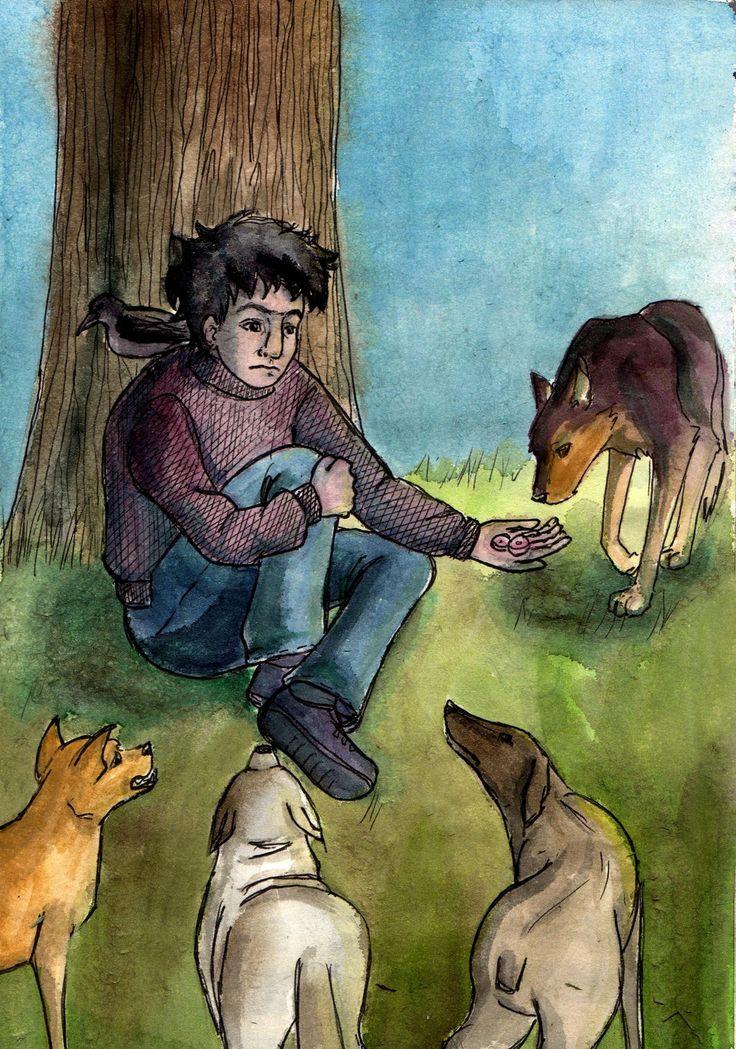 """""""Лохматый Горбач любил военные марши и мечтал стать пиратом. Летом он чернел, превращаясь в сутулого вороненка, и находил на себе насекомых. Собаки чуяли его нежность издалека и сбегались принять ее. От его рук пахло псиной, а в карманах он прятал хлеб и колбасу для четвероногих друзей."""" Вy Lana-Lumos"""