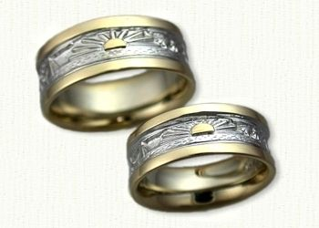 New Custom Made Story Bands with Rising Suns