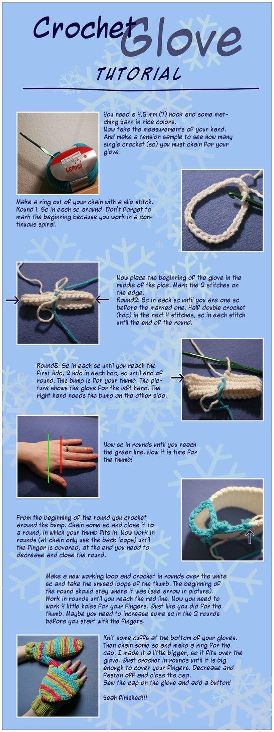 Fingerless gloves eso - Crochet Fingerless Gloves With A Flap Tutorial