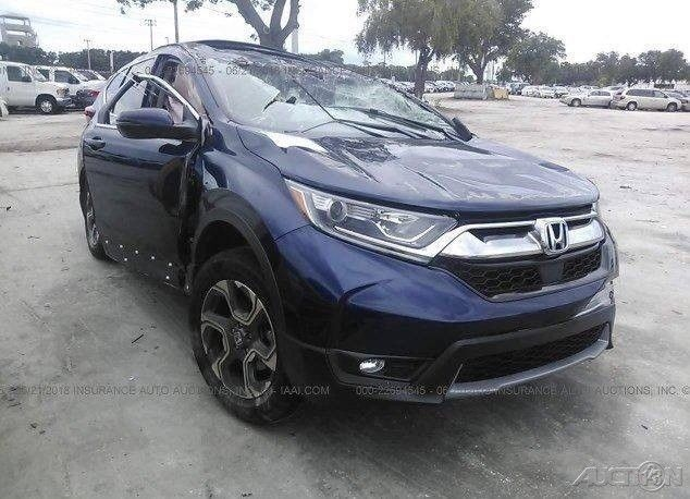2017 Honda Cr V Ex 4dr Suv Used Turbo 1 5l I4 16v Automatic Fwd Moonroof Ebay Link