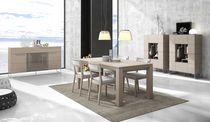 Aparador alto / moderno / de madera / con estantes