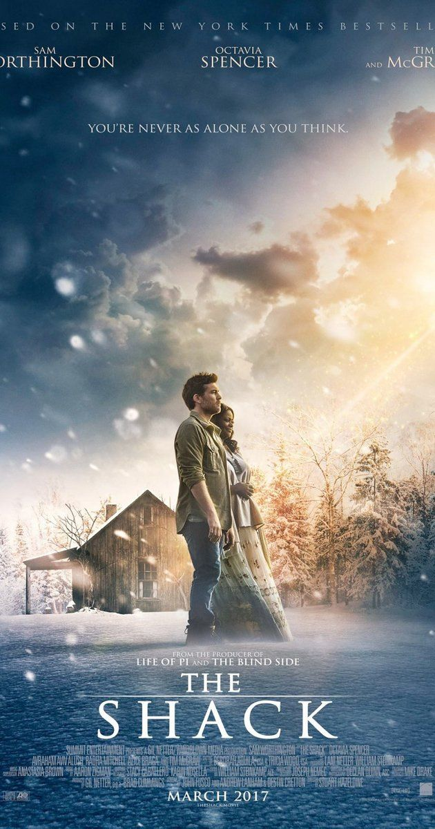 """Directed by Stuart Hazeldine.  With Sam Worthington, Octavia Spencer, Tim McGraw, Radha Mitchell. A grieving man receives a mysterious, personal invitation to meet with God at a place called """"The Shack."""""""