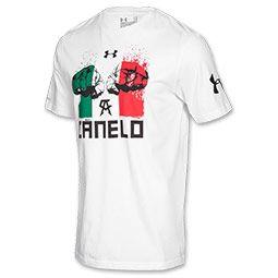 Men's Under Armour Canelo Fists T-Shirt| FinishLine.com | White