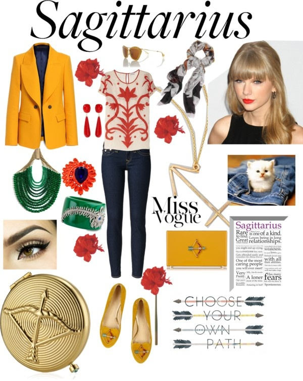 Sagittarius Woman Style By Aphrodite Bartzila Liked On Polyvore Sagittarius Best Sign