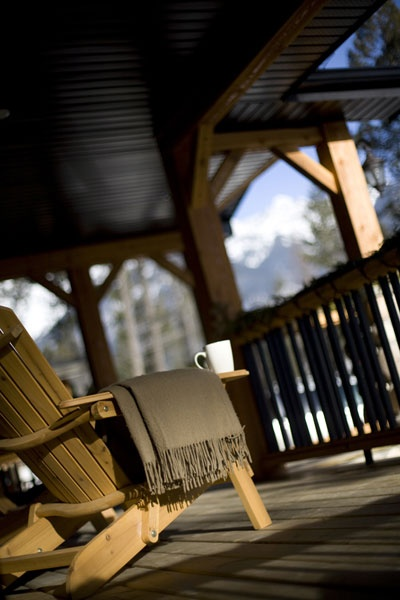 Relax on front deck