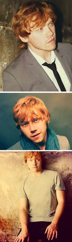 beautiful and sexy ruppert grint / ron weasley