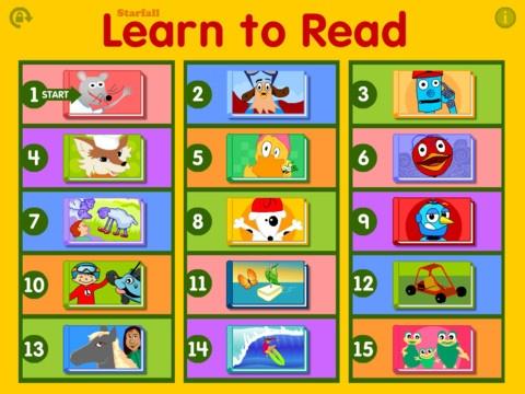 Starfall Literacy Apps Pinterest