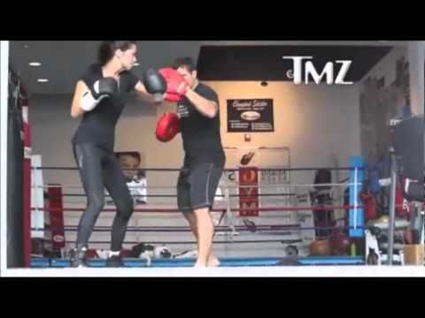Box Training from Adriana Lima