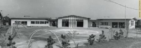 Margarita Yochien - École maternelle Marguarita, institution fondée en 1961, Chofu (Tokyo), Japon, 1967.