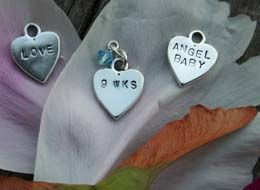 Miscarriage Jewelry, Baby Loss Memorial Bracelets and Sympathy Gifts