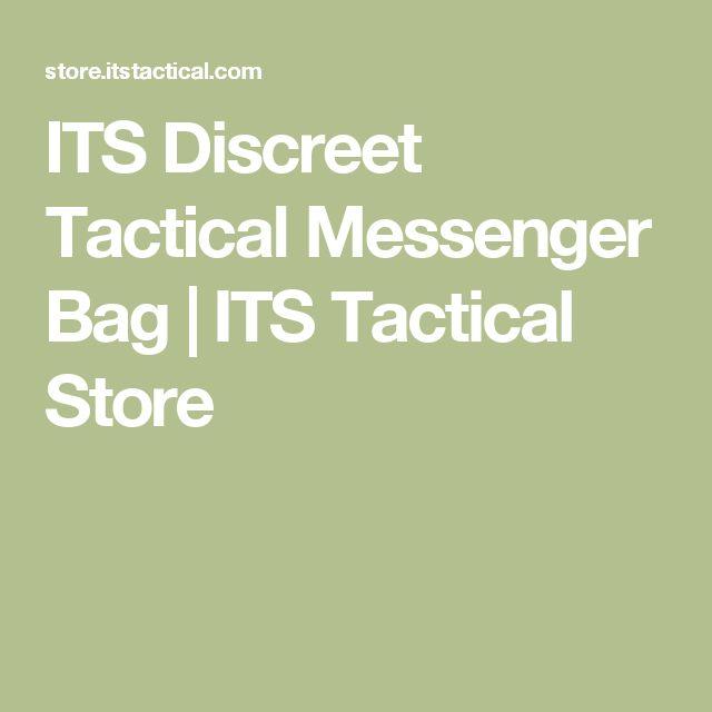 ITS Discreet Tactical Messenger Bag | ITS Tactical Store