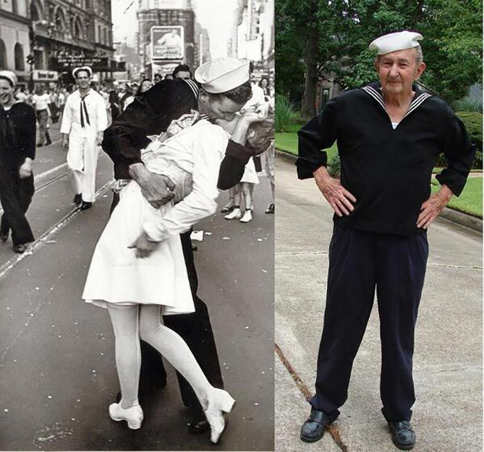 'Kissing Sailor', Glenn McDuffie, Has Passed Away At The Age Of 86.