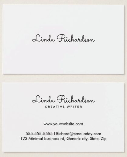 Best Business Cards Images On   Business Cards Carte