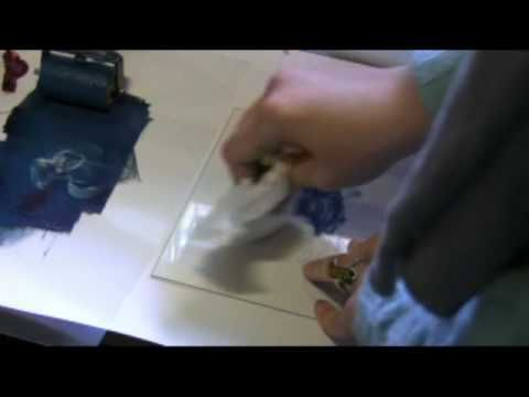 Drypoint Etching on Acrylic Perspex PART 2 - Art Play with Milliande
