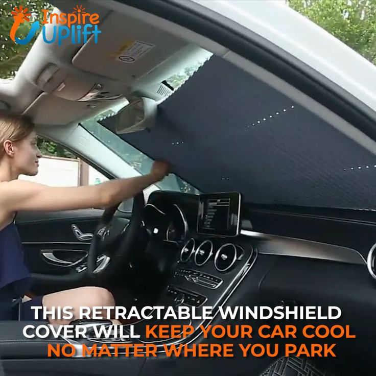 Car Retractable Windshield Cover 😍