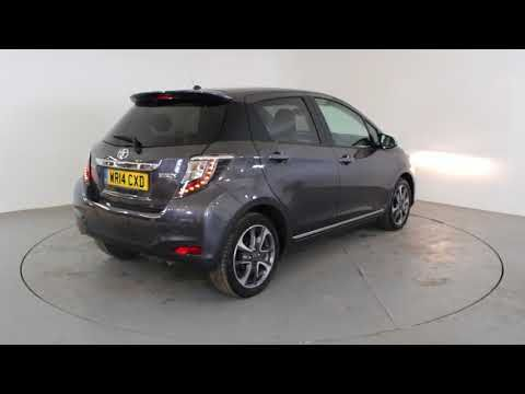 TOYOTA YARIS 1.3 TREND - Air Conditioning - Alloy Wheels - Bluetooth - Cruise Control - Spare Key - Reverse Parking Camera | In grey with 46000 miles on ...