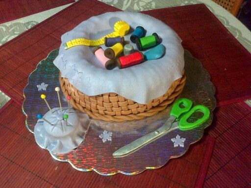 Torta costurera