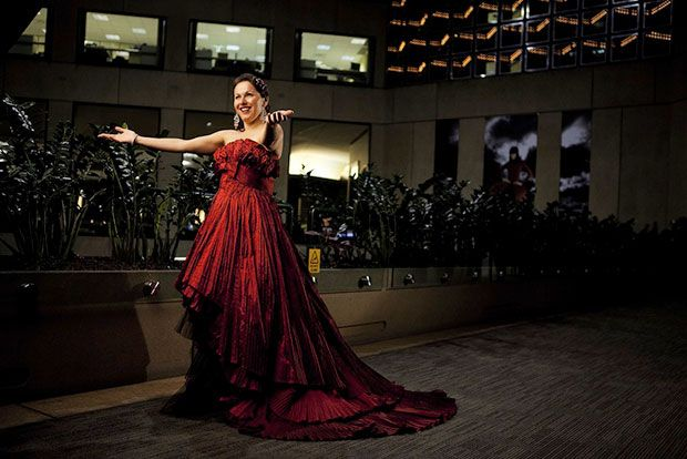 Tedx Melbourne: Social entrepreneur and soprano singer Tania de Jong. Source: Meld Magazine