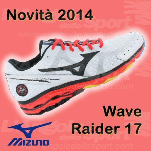 Novità #Mizuno Wave Raider 17 #running www.facebook.com/angolodellosport