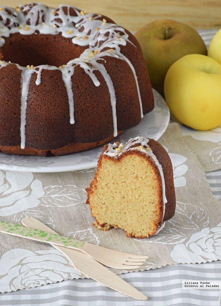 Te explicamos paso a paso, de manera sencilla, la elaboración del postre Bundt Cake de puré de manzana y limón. Ingredientes, tiempo de elaboración