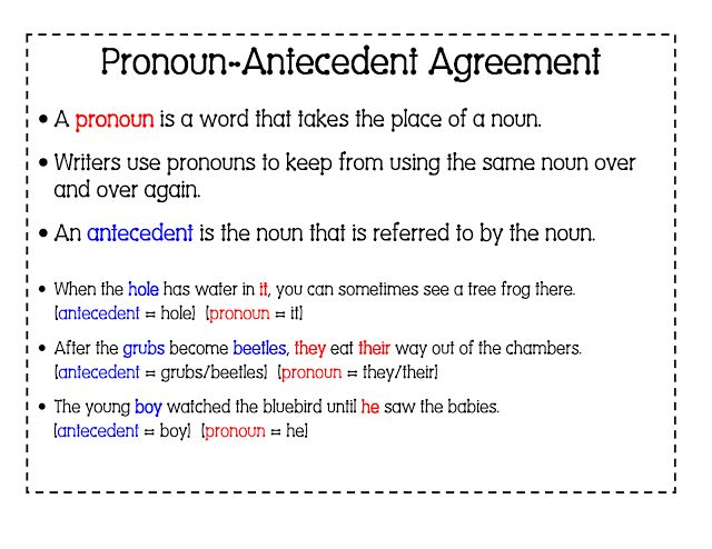 6th Grade English with Mr. T: Pronoun / Antecedent Agreement - Part 2