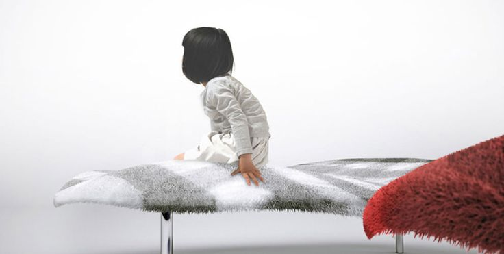 The magic carpet couch you can lie in and pretend you're flying