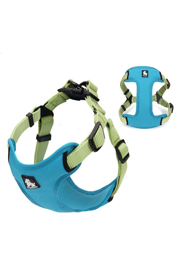 Dog Harness - No-Pull, Adjustable, Soft Padded with Reflective Trim | TRAITS