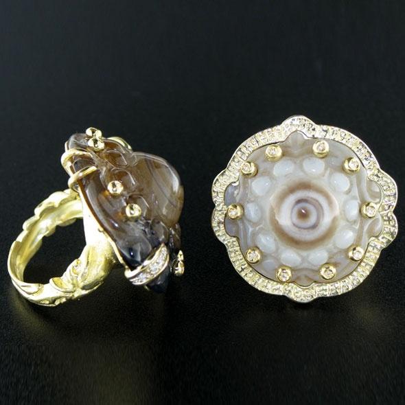 anelli pezzi unici - Silvia Kelly Jewels - what can i say?????? wonderfull