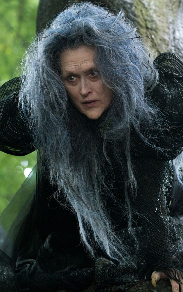 Meryl Streep in Into the Woods. Not only is Meryl in this movie adaptation of the Stephen Sondheim musical but so is Johnny Depp!!!